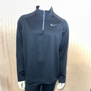Nike Therma Fit Large Pullover Black 1/4 Zip